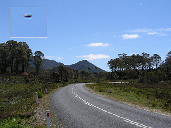 UFO Spotted In The Sky Above Australia